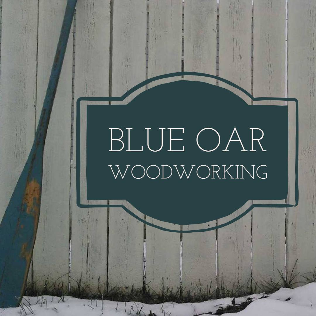 Blue Oar Woodworking logo