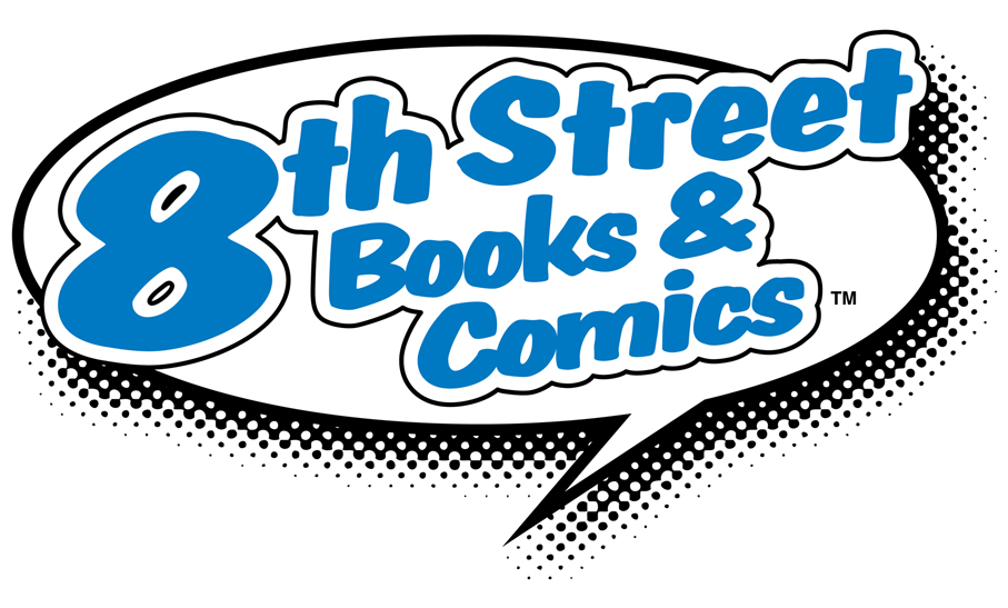8th Street Books & Comics logo