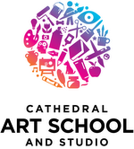 Cathedral Art School and Studio logo