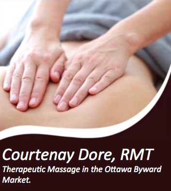 Courtenay Dore, Registered Massage Therapy logo
