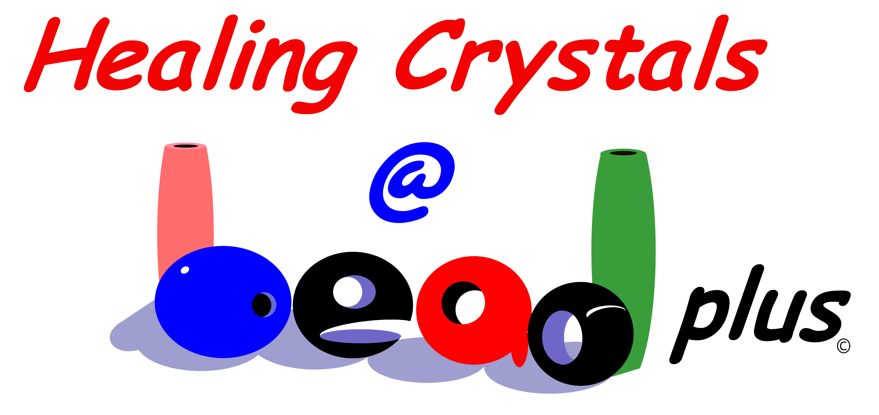 Healing Crystals at Beadplus logo