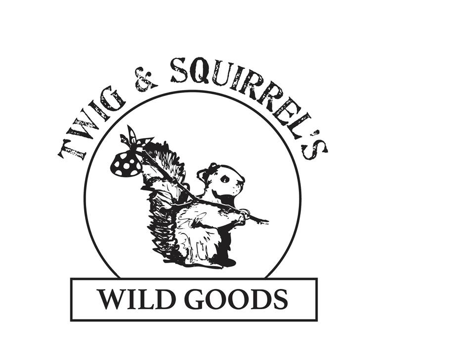 Twig and Squirrel's Wild Goods logo